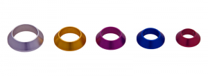 Color Anodized Aluminum Winding Checks
