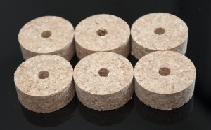 Cork rings AGGLOMERATED
