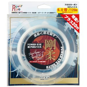 Fluorocarbon 100% POWER EYE GOJYU, 120m, JAPAN