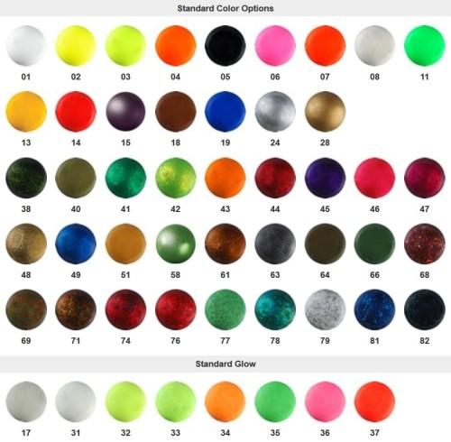Modish Farby proszkowe PRO-TEC, do główek jigowych i ciężarków BEST RODS SE01